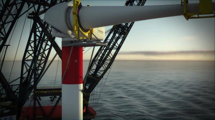 Parkwind_Heerema_MHI Vestas announce first floating WTG installation for Arcadis Ost 1 (1)-thumb